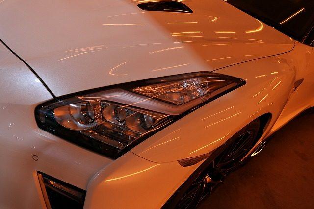新車、日産GTRにセラミックコーティング(ceramicpro9H)4層施工!埼玉県よりS様、いつもご贔屓にしてくださりましてありがとうございます。