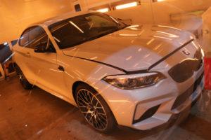 BMW M2コーティング乾燥
