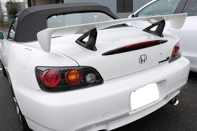 ガラスコーティング ホンダ S2000