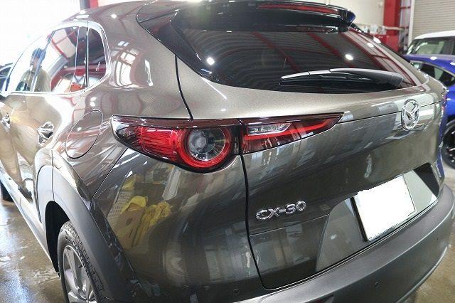 マツダ ガラスコーティング CX-30