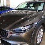 新車マツダCX-30に親水性ガラスコーティングを施工!東京都中央区よりご来店ありがとうございました!