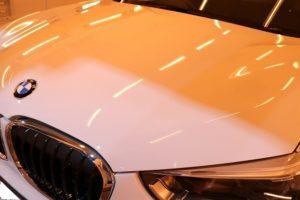 BMW・X1にセラミックコーティング
