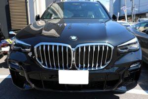 BMW X5 コーティング施工後