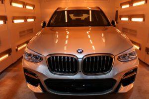 新車BMWX3にファインラボ・ヒールプラスを施工