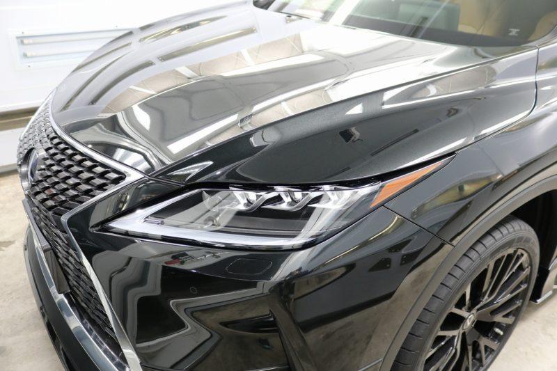 新車レクサスRX450hにカーコーティング施工