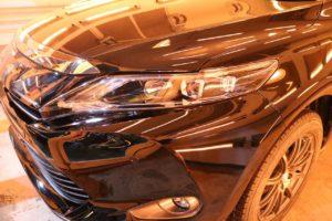 トヨタハリアー202にカーコーティングを施工