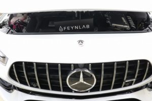 新車メルセデスベンツAMG A45Sにガラスコーティング施工 正面画像