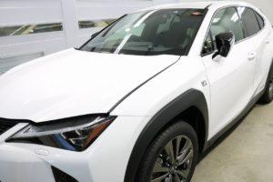 新車レクサスUX250h セラミックコーティング施工