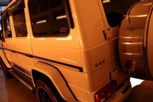 FEYNLAB/HEAL LITEカーコーティングをメルセデスAMG-G63に施工