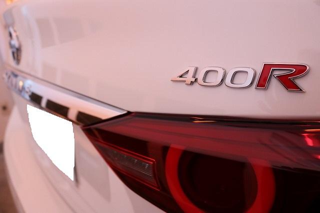 新型日産スカイライン400R ファインラボコーティング