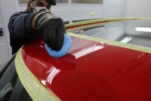 The New MINI JCW Clubmanにファインラボコーティング施工 コーティング塗布の画像