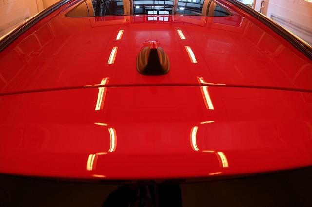 The New MINI JCW Clubmanにファインラボコーティング施工 遠赤外線 天井の画像
