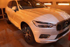 新車ボルボXC60にファインラボヒールプラスを施工 遠赤外線の画像
