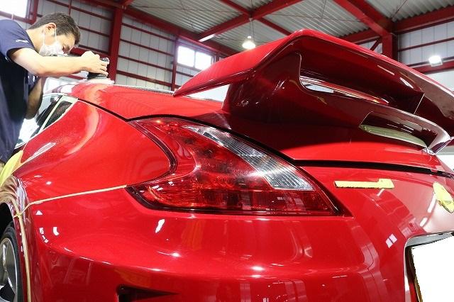 日産フェアレディZ34ニスモに耐久性抜群セラミックコーティング