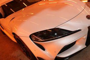 トヨタ・GRスープラにセラミックプロ9Hコーティングを施工