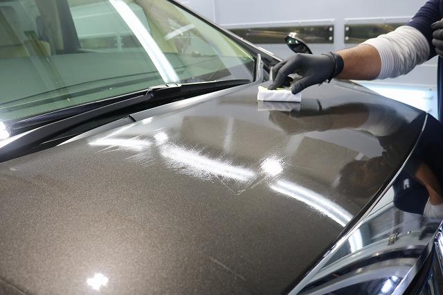 トヨタ・アルファードにセラミックプロ9H施工 CeramicPro塗布の画像