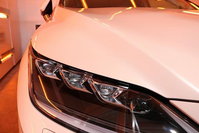 レクサスRXにファインラボヒールプラスを施工 遠赤外線 焼付の画像