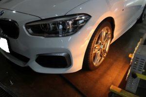 BMWwheelコート乾燥