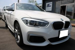 BMW M140iにバリアタフホイールコート施工
