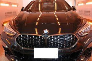 新車BMW M235iにカーコーティング施工
