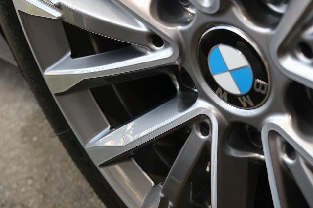 BMW 218dにパーツコーティング施工 ホイールの画像