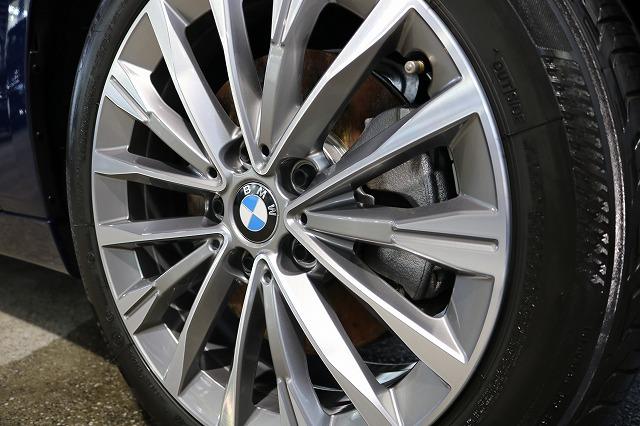BMW 218dにパーツコーティング施工 ホイールコート施工後の画像
