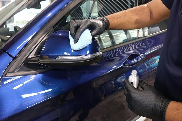 BMW X1にファインラボセラミックを施工 コーティング塗布の画像