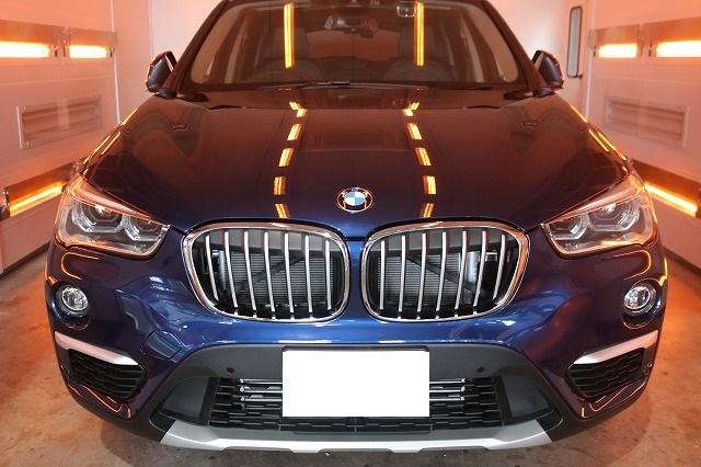 BMW X1にファインラボセラミックを施工