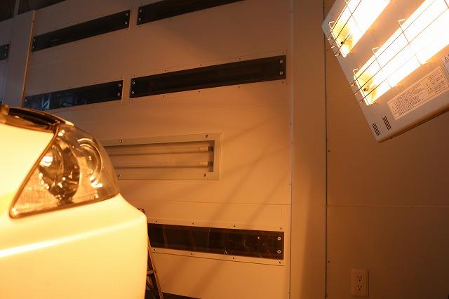 レクサスISにヘッドライトコート施工 焼付の画像
