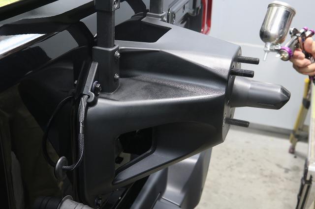 ジープラングラーサハラにカーコーティング施工 スプレーコーティングの画像