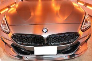 BMW Z4 M40iに幌コーティングを施工