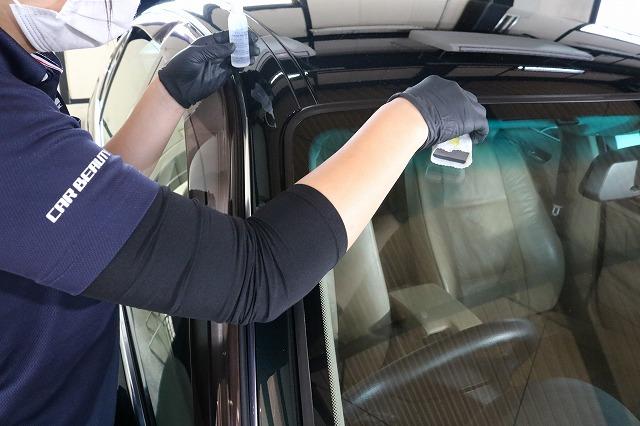 BMW 320iにウィンドウコートを施工 コーティング塗布の画像