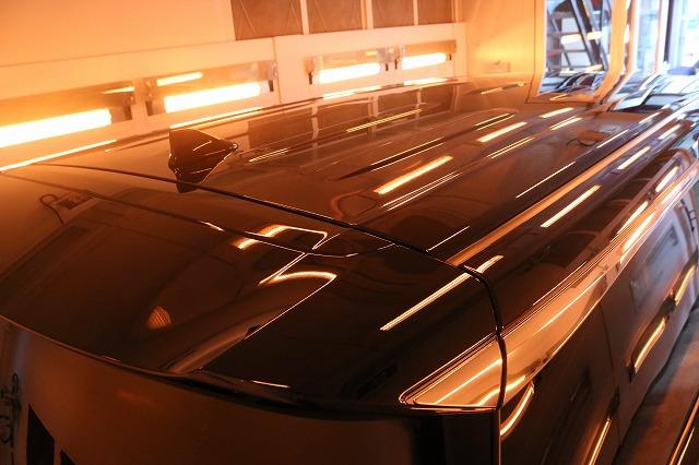 新車トヨタ・ヴェルファイアにファインラボヒールプラスを施工 ルーフ焼付画像