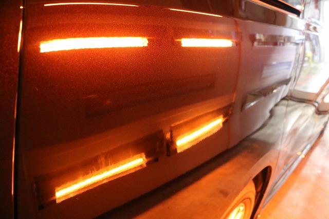 新車トヨタ・ヴェルファイアにファインラボヒールプラスを施工 サイド焼付の画像