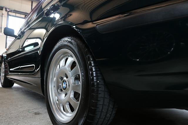 BMW 320iにエシュロンガラスコーティングを施工後 サイド画像