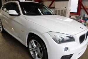 BMWX1 ガラスコーティング