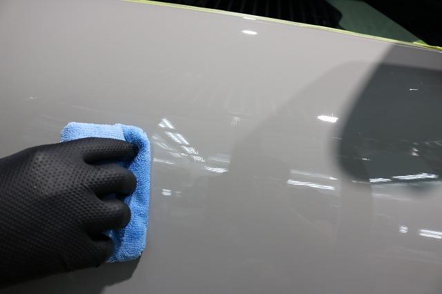 ポルシェ922カレラにカーコーティング施工 コーティング塗布の画像