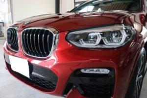 BMW X4にカーコーティング施工