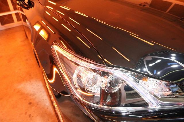 トヨタのクラウンマジェスタにカーコーティングを施工 遠赤外線の画像