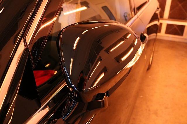 トヨタのクラウンマジェスタにカーコーティングを施工 焼付画像