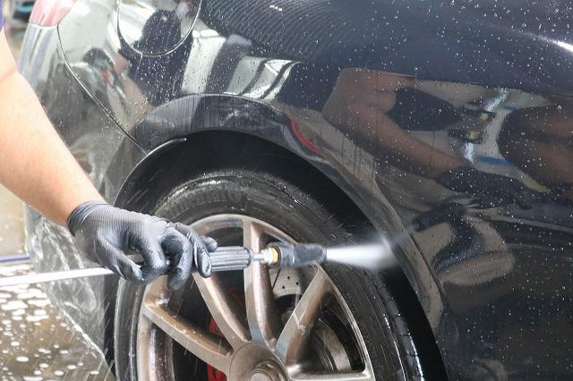 メルセデスベンツS63にカーコーティングを施工 洗車の画像