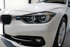 BMW320dにクォーツガラスコーティング施工