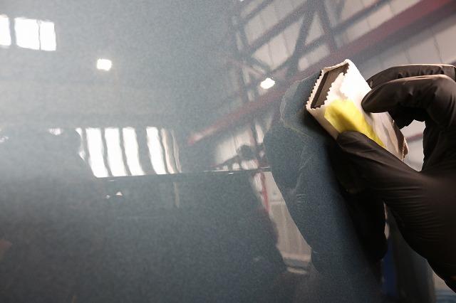 ハマーH2にセラミックプロ9Hを施工 コーティング塗布画像