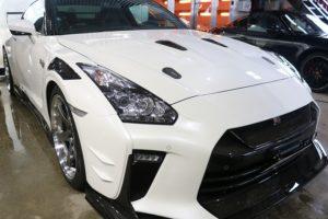 日産GTRにセラミックプロ9H施工