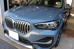 BMW X1にセラミックシールド施工