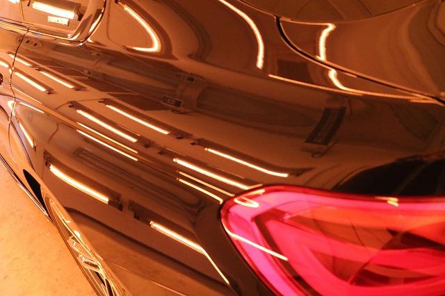 BMW440iへカーコーティング施工 焼付画像
