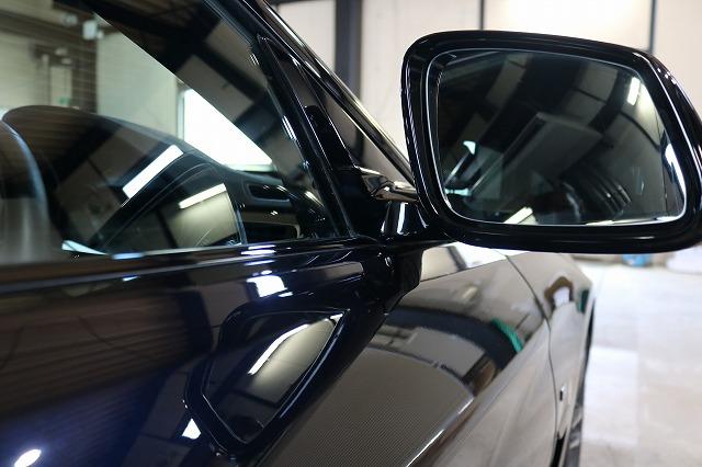 BMW440iへカーコーティング施工後 フロントサイド画像