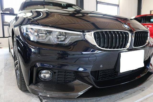 BMW440iへカーコーティング施工