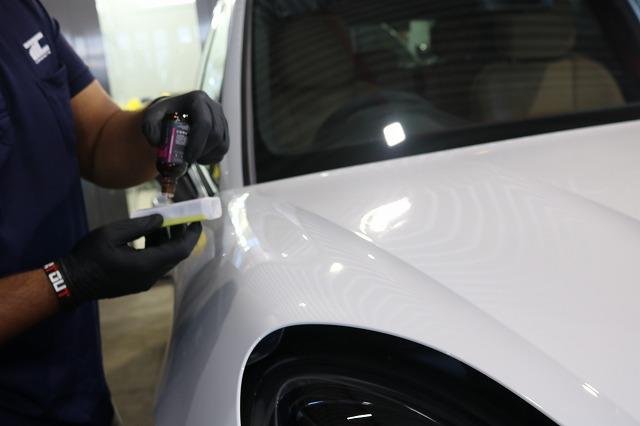 新車ポルシェマカンにセラミックコーティング施工 セラミックプロ9Hの画像
