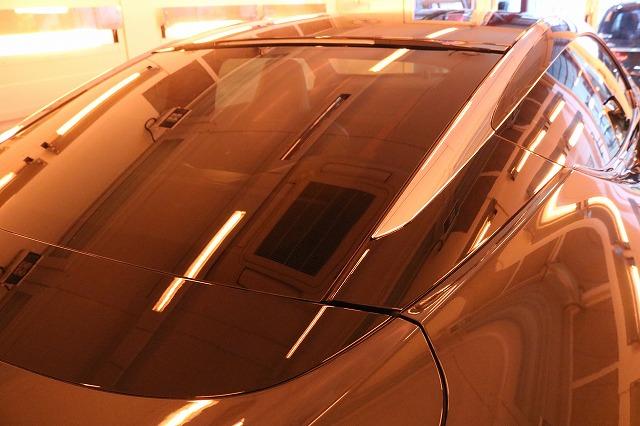 新車レクサスLC500hにファインラボヒールプラスを施工 強制乾燥画像